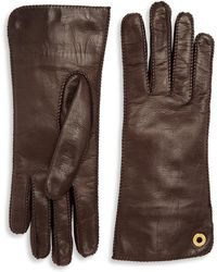 Loro Piana - Jacqueline Leather Gloves - Lyst
