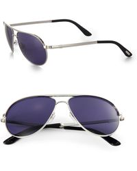 Tom Ford - Marko 58mm Aviator Sunglasses - Lyst