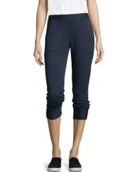 Stateside - Cashmere Blend Track Trousers - Lyst