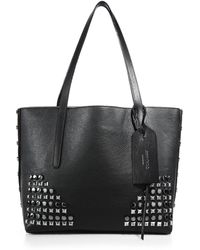 Jimmy Choo - Studded Leather Tote - Lyst