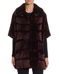 Saks Fifth Avenue - Sheared Mink Jacket - Lyst