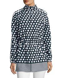 St. John - Dot Print Jacket - Lyst