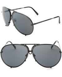 73c2d0bdcf65 Porsche Design - P847 Aviator Tinted Sunglasses - Lyst