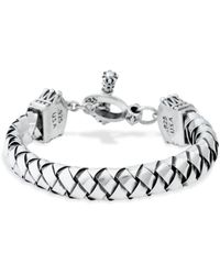 King Baby Studio - Circle And Bar Bracelet - Lyst