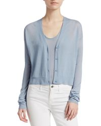 Theory - Hanelee Cashmere Cardigan - Lyst