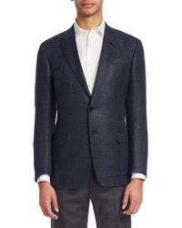 Giorgio Armani - Wool Slim Fit Sportscoat - Lyst