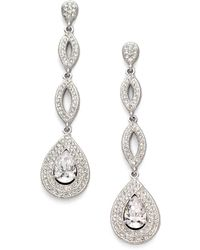 Adriana Orsini | Crystal Drop Earrings | Lyst