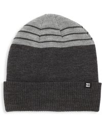 Block Headwear | Striped Block Beanie | Lyst