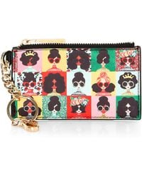 Alice + Olivia - Regina Stacey Face Photobooth Zip Card Case - Lyst
