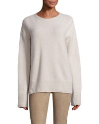 The Row | Sibel Wool Blend Top | Lyst