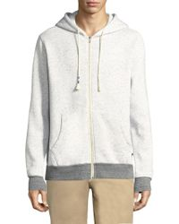 Sol Angeles - Peppered Zip Hoodie - Lyst