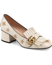 Gucci - Star Marmont Pumps - Lyst