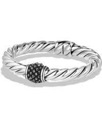 David Yurman - Cable Berries Faceted Gemstone & Sterling Silver Bracelet - Lyst