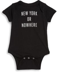 Knowlita - Baby's Ny Cotton Bodysuit - Lyst
