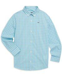 Vineyard Vines - Little Boy's & Boy's Plaid Shirt - Lyst