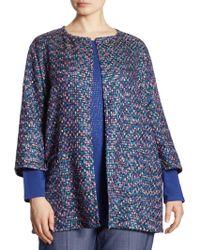 Marina Rinaldi - Fatidico Tweed Jacket - Lyst