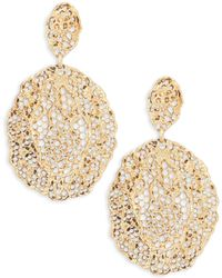 Aurelie Bidermann - Vintage Lace Drop Earrings - Lyst