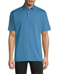 Peter Millar - Stripe Polo Shirt - Lyst