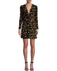 DELFI Collective - Frankie Sun Print Long Sleeve Mini Dress - Lyst