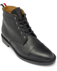 Thom Browne - Derby Lace-up Captoe Boots - Lyst