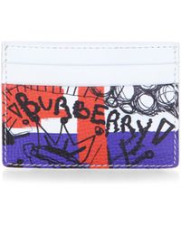 Burberry | Grainy Leather Card Case | Lyst