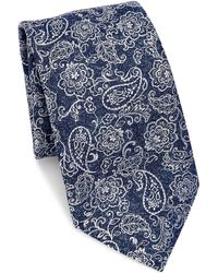 Saks Fifth Avenue - Collection Paisley & Floral Silk Tie - Lyst