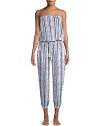 Cool Change - Brooke Striped Jumpsuit - Lyst