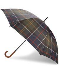 Barbour - Walker Tartan Umbrella - Lyst