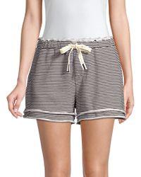 Stateside - Stripe Shorts - Lyst