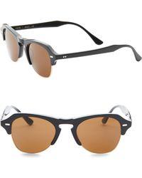 7094c7ae0ce30 Lyst - Kyme 62mm Aviator Sunglasses in Metallic for Men