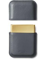 Georg Jensen - Shades Leather Card Holder - Lyst