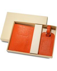 Graphic Image - World Traveler Passport Case & Luggage Tag Set - Lyst