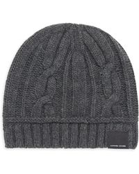 e93cdcceb2c Bloomingdale s · Canada Goose - Women s Merino Wool Cable Toque - Iron Grey  - Lyst