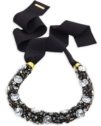 Lizzie Fortunato - African Sky Crystal Collar Necklace - Lyst