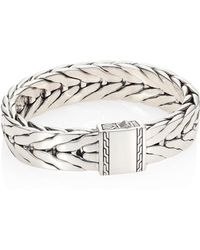 John Hardy - Classic Chain Collection Sterling Silver Bracelet - Lyst
