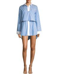 Sandy Liang - Jodamo Overlay Dress - Lyst