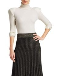 A.L.C. - Addison Ribbed Turtleneck Sweater - Lyst