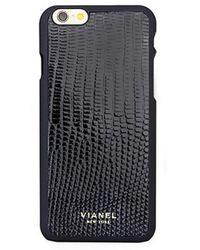 Vianel - Lizard-effect Leather Iphone 6 Case - Lyst