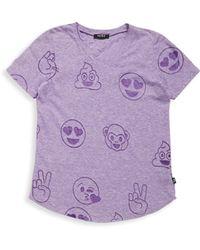 Terez - Girl's Emoji Burnout Tee - Lyst
