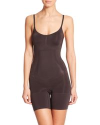 Spanx | Oncore Mid-thigh Bodysuit | Lyst