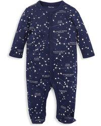 Ralph Lauren Baby Boy's Constellation Footie