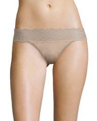 CALVIN KLEIN 205W39NYC - Comfort Lace-waist Bikini Bottom - Lyst