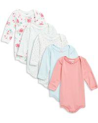 Petit Bateau - Baby's Five-piece Cotton Bodysuit Set - Lyst