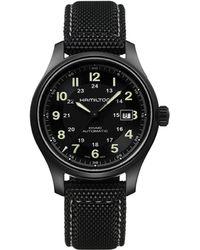 Hamilton - Khaki Field Titanium Watch - Lyst