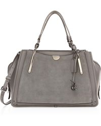 COACH - Dreamer Mixed Leather Top Handle Bag - Lyst