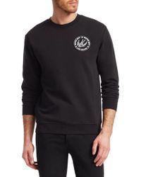 McQ - Clean Crew Emblem Sweater - Lyst