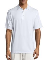 Peter Millar - Crown Sport Stretch Jersey Polo - Lyst