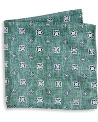 Saks Fifth Avenue - Collection Flower Diamond Printed Pocket Square - Lyst