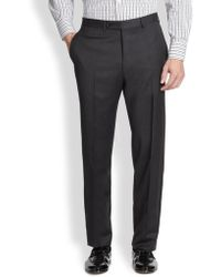 Canali - Wool Trousers - Lyst