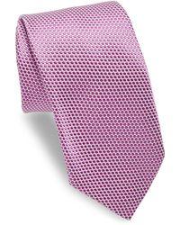 Ike Behar - Purple Polkadot Tie - Lyst